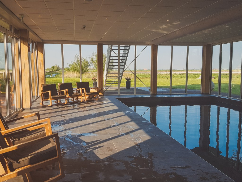 Pool & Wellness Bereich im Boutique Hotel Texel