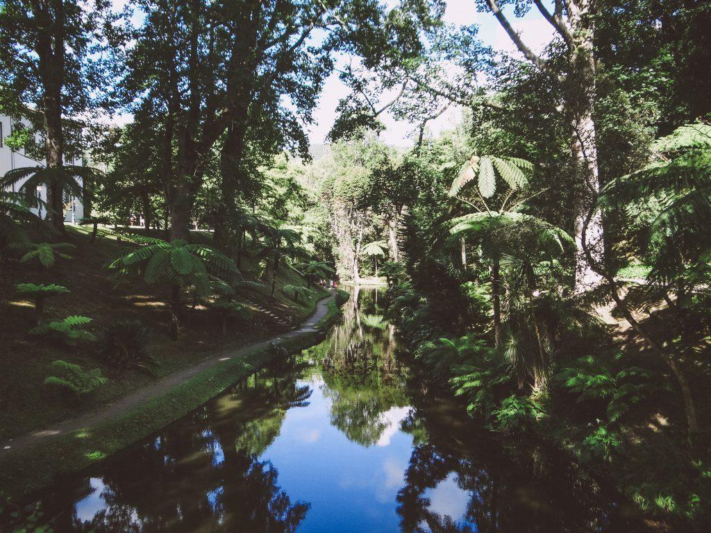 Azoren Sehenswürdigkeit Sao Miguel Terra Nostra Park