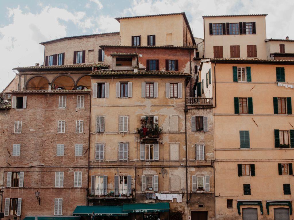 Siena in der Toskana einer der schönsten Orte der Region