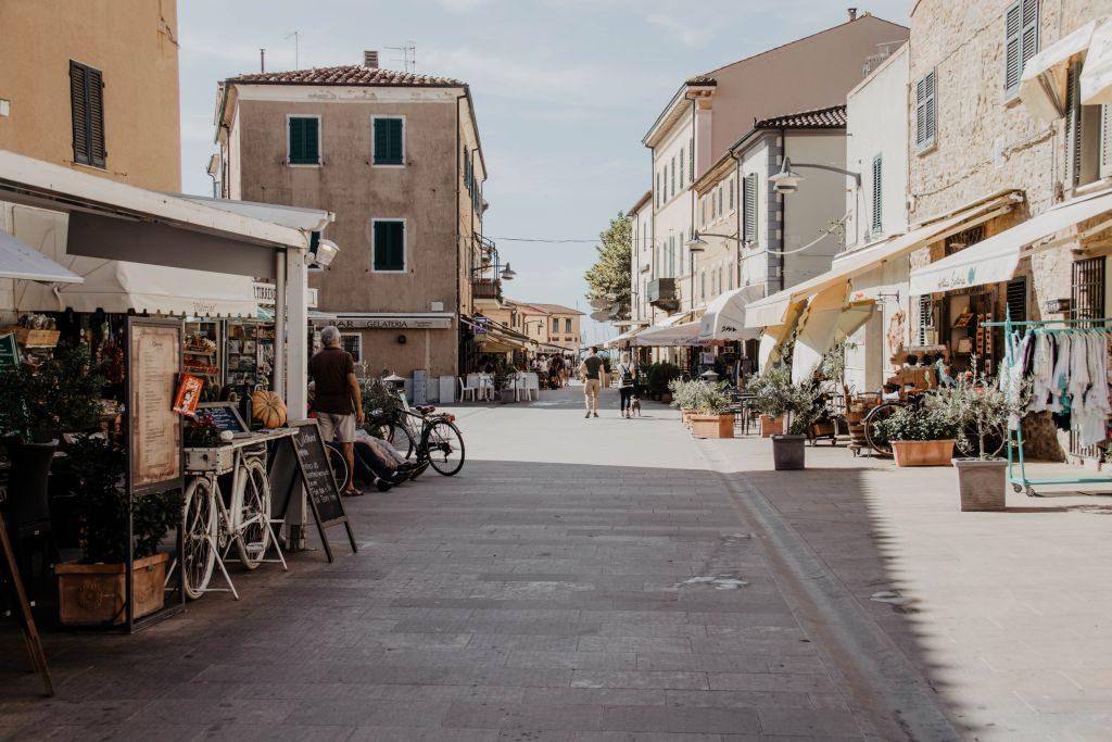 Urlaub in der Toskana - einer der schönsten Orte ist Castiglione della Pescaia