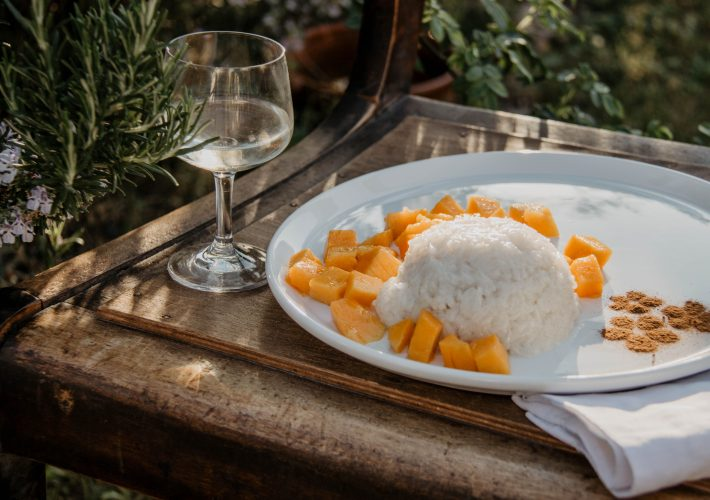 Mango Sticky Rice Rezept vegan