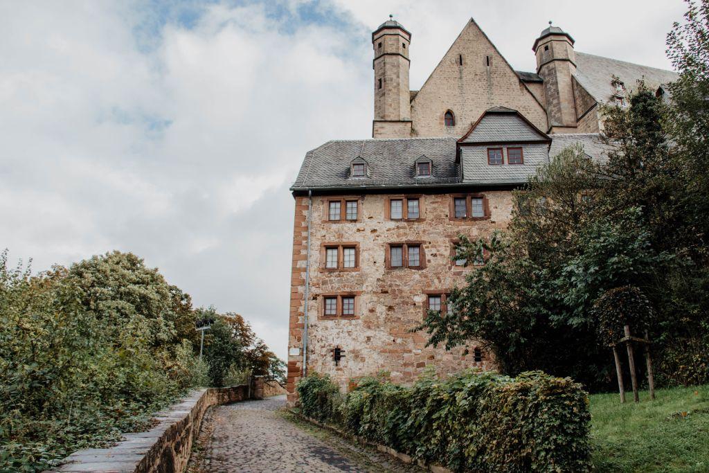 Marburg Sehenswürdigkeiten Das Landgrafenschloss in Marburg