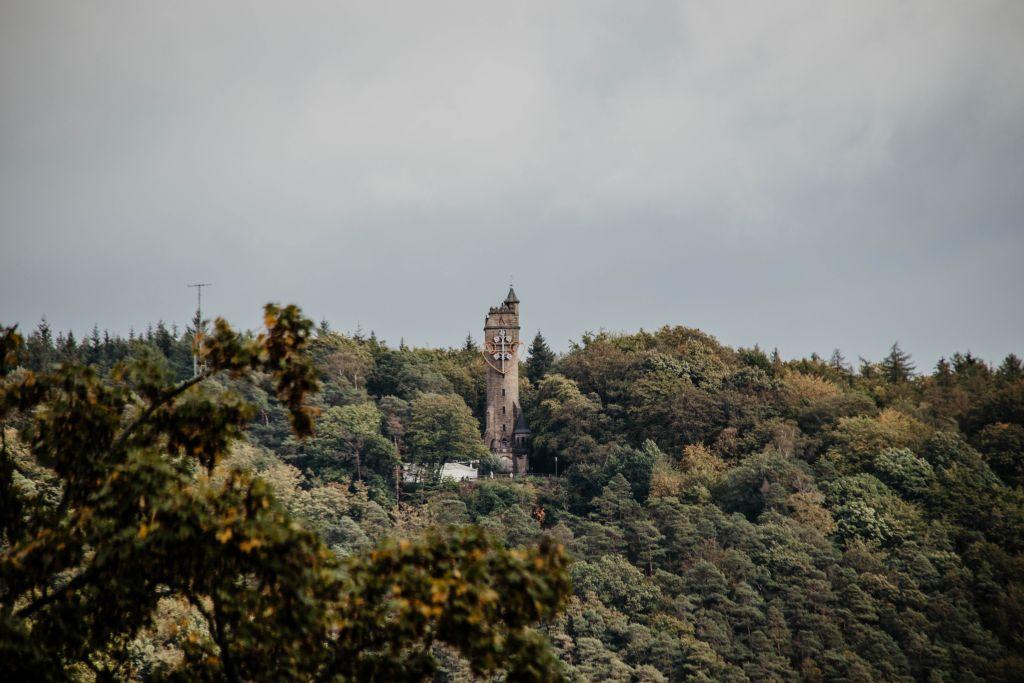 Beliebtes Ausflugsziel und Sehenswürdigkeit in Marburg: Der Kaiser-Wilhelm-Turm.