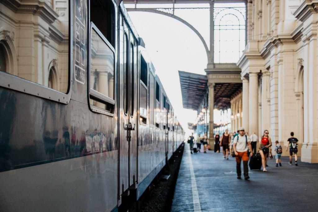 Mit dem Zug nach Budapest